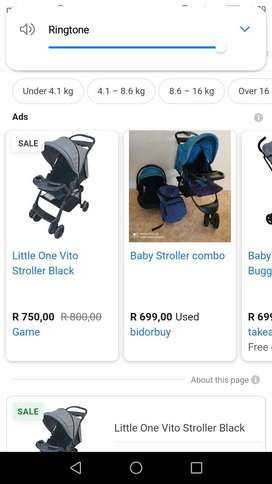 Pram for up too 5 years
