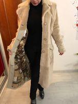 Пальто с норкой 50-52 размера