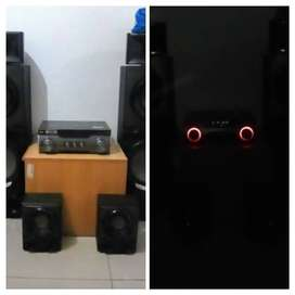 LG X METAL BASS HOME THEATER SYSTEM