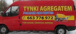 Tynki maszynowe agregatem Lublin,Swidnik.WOLNE TERMINY