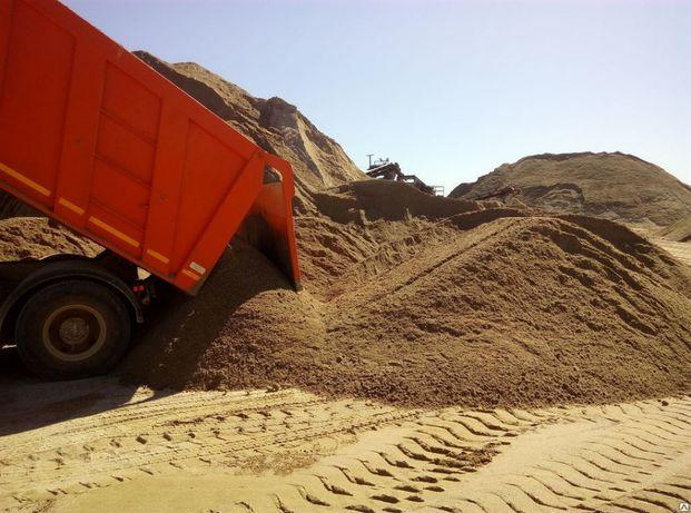 Песок щебень отсев 11 тонн КАМаз Доставка