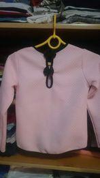 Śliczna bluzka elegancka z pięknym tyłem