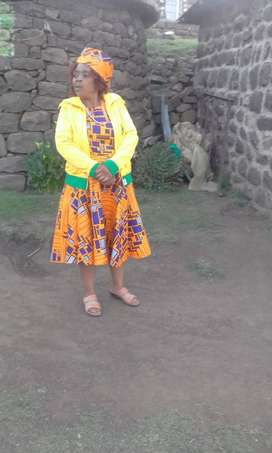 Mature mosotho lady with refs needs stay in job as maid/nanny