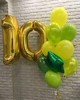 !!!Акция!! цифры на день рождения гелий гелиевые шар шары шарики
