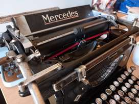 Mercedes Type writer