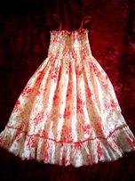 Лёгкое летнее платье на 5- 6 лет