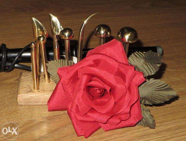 Бульки инструмент для цветов из кожи и ткани