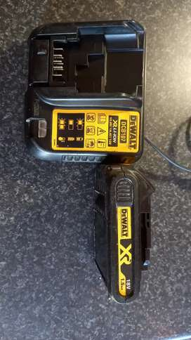 Dewalt XR Battery and Multi voltage charger