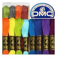 нитки мулине для вышивки DMC