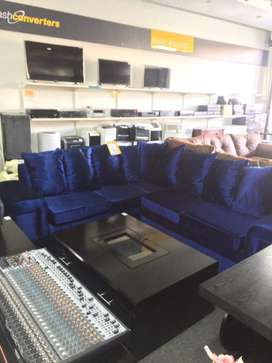 Brand new 5 seater couches velvet couch for sale
