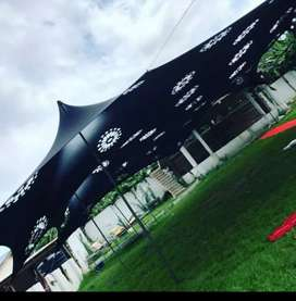 Bargain Cheese Stretch tents for sale
