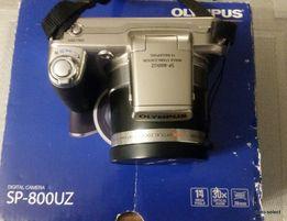 Aparat fotograficzny Olympus SP-800UZ 14mpx 30xZoom Nowy Akcesoria