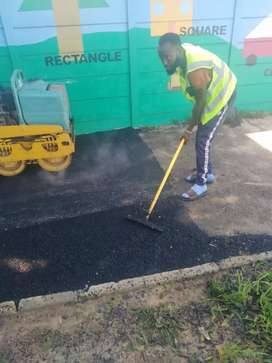 We do Tar please call experts roads, driveways and industrial parking