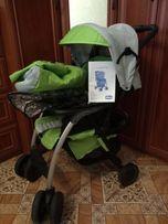 Прогулочная коляска Chicco Simplicity + муфта для рук