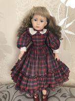 Фарфоровая характерная кукла, Leonardo 55 см