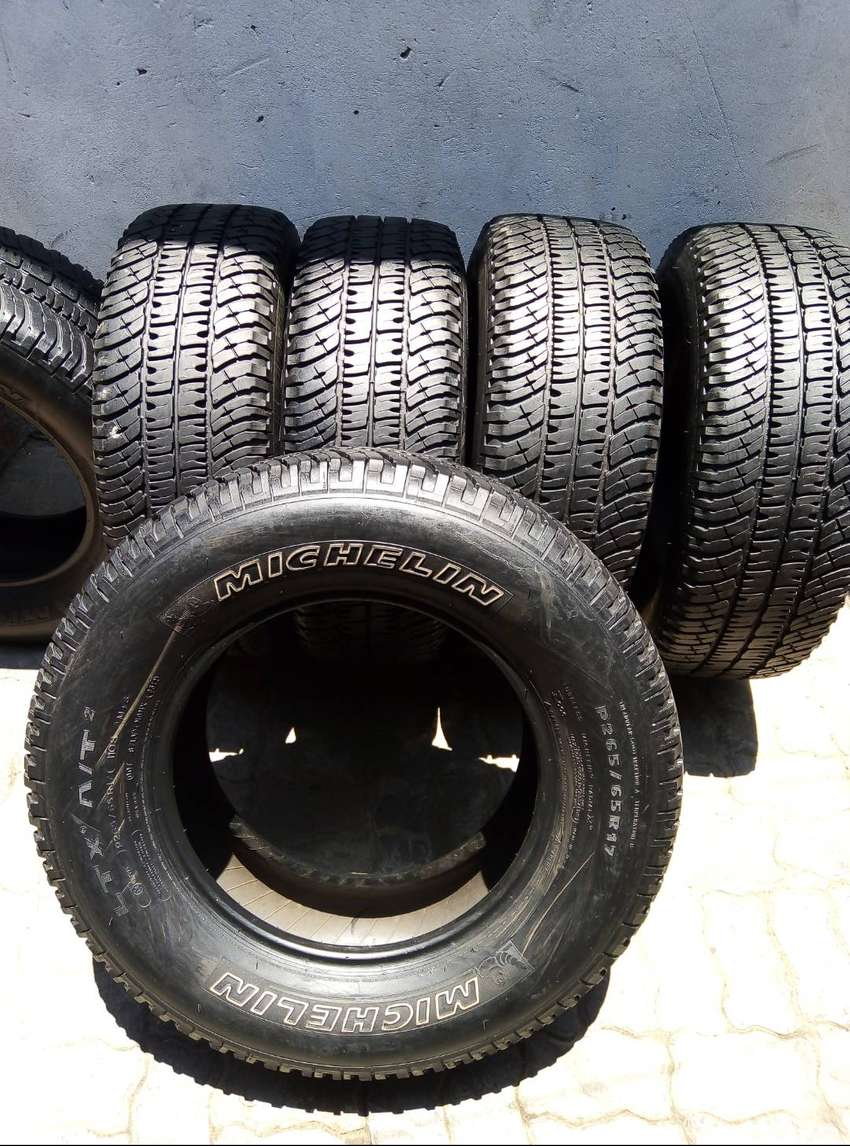 265/65/17 Michelin A/T Tyres