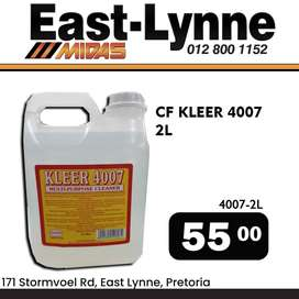 Kleer 4007 Multi-Purpose Cleaner for ONLY R55!