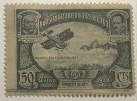 Spain 1930 Pro Ibero American Union Airmail