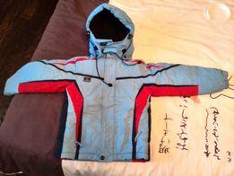 куртка 122 зимняя спортивная