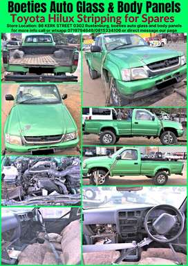 Toyota Hilux Stripping for Parts