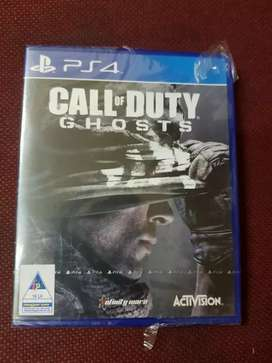 5 days  spacial  offer    call of duty ghost  ps4