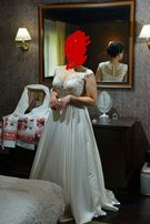 Продам свадебное платье.Размер 48