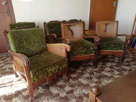 6 Seater Ball and Claw Formal Chair Set