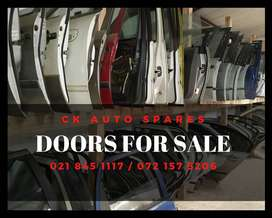 Doors for sale for most vehicles make and models.