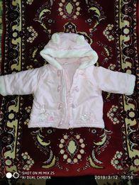 Курточка для девочки ( весна- осень)