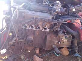 Complete motor without gearbox