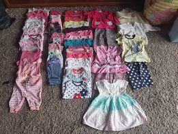 ubranka dla dziewczynki ciuszki od rozm 56 do 86 od 3 zł za szt.