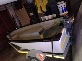 3.6m Andy craft boat and trailer