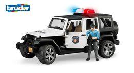 Брудер Джип Wrangler Police Bruder+фигурка полицейского (02526)