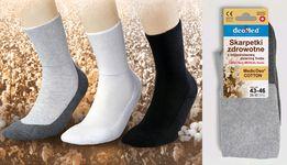 Skarpety zdrowotne MedicDeo,bezuciskowe, na zmęczone stopy/DZIEŃ BABCI