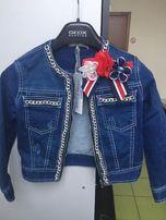 Продам джинсовую куртку и шорты MISS Grant (Италия) на девочку, TG.38