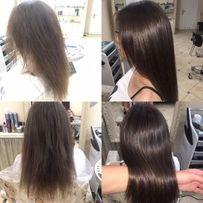 Окрашивание любой сложности Кератиновое лечение волос