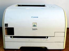 Принтер лазерный цветной Canon i-SENSYS LBP5050 2 комплекта картриджей