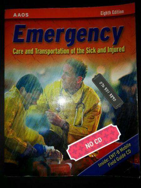 Emergency Care And Transportation Of The Sick And Injured - Eighth Edi 0