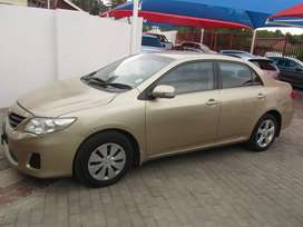 TOYOTA  COROLLA 1.6L IN GOOD CONDITION AVAILABLE NOW