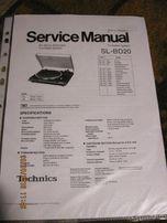technics sl-bd20 instrukcja obsługi wraz ze schematem elektrycznym