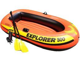 Двухкамерная надувная лодка из ПВХ Intex (Интекс) 58332 Explorer 300