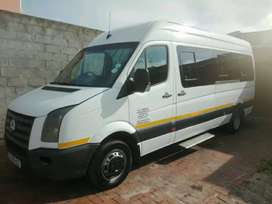 vw crafter bus