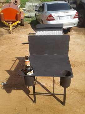 Braai stands and wood stoves for sale
