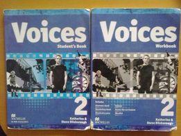 VOICES 2 podręcznik i ćwiczenie do j. angielskiego + CD