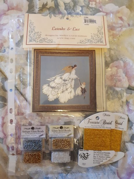Комплект вышивки Lavendet & Lace