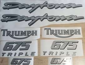 Triumph daytona decals stickers vinyl graphics kits for all models