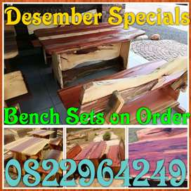 Desember Specials on Bench Sets
