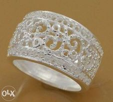 925 ażurowy pierścionek - NOWY !!!