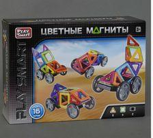 Конструктор магнитный 2426 play smart 16 деталей плей смарт магниты