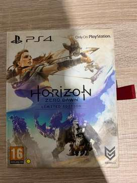 Horizon Zero Dawn( Limited edition steel cover and Art book)